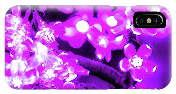 Flower Lights 2 IPhone Case