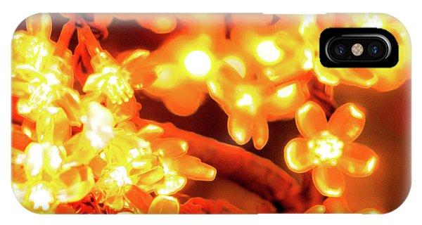 Flower Lights 5 IPhone Case