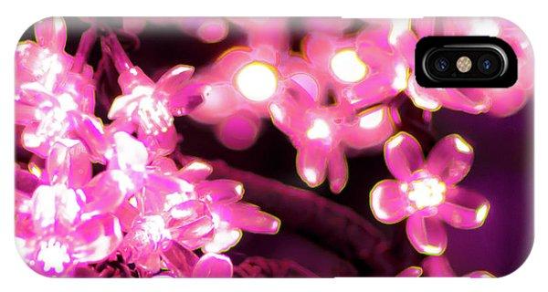 Flower Lights 9 IPhone Case