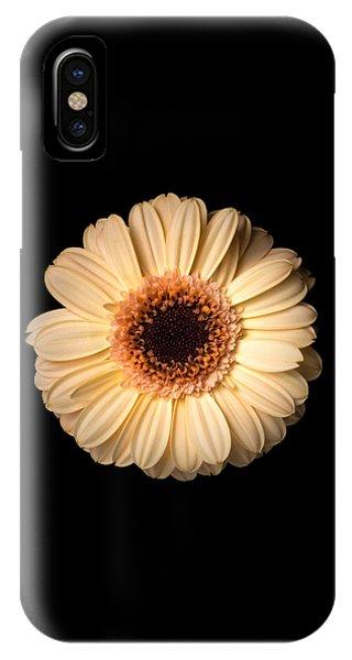 Flower Over Black IPhone Case