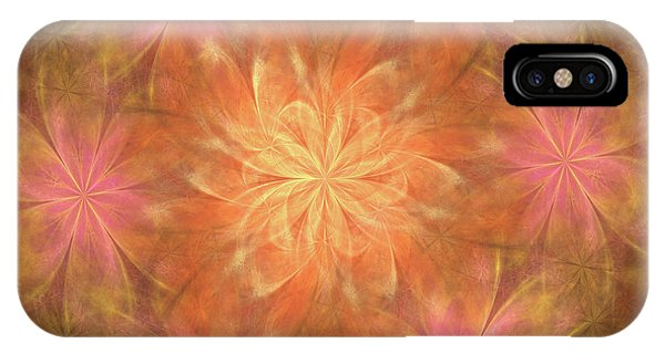 IPhone Case featuring the digital art Flower Power by Angie Tirado