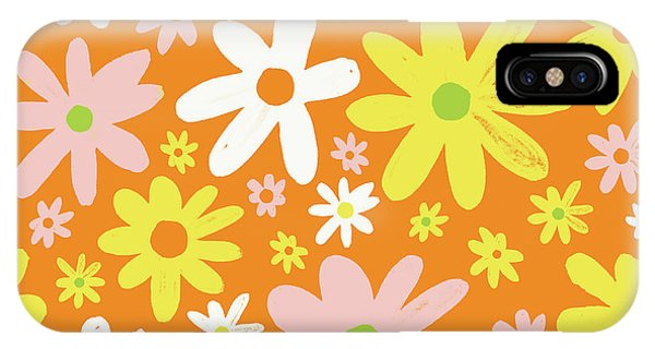 Flower Power Pattern IPhone Case