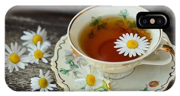 Flower Tea IPhone Case