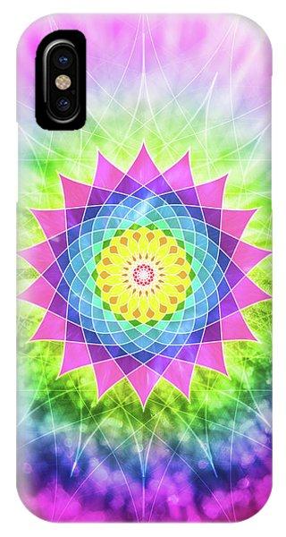 Flowering Mandala IPhone Case