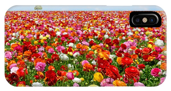 Lush iPhone Case - Flowers Field by Orientaly