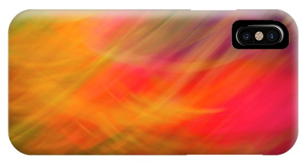 Flowers In Abstract IPhone Case