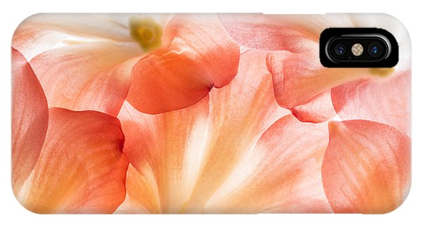 Open iPhone Case - Flowers In Detail - Macro Texture by Kuttelvaserova Stuchelova