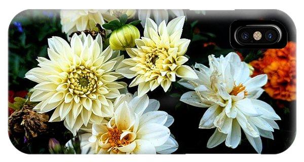 Flowers In The Garden IPhone Case