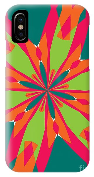 Illusion iPhone Case - Flowers Number 21 by Alex Caminker