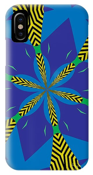 Illusion iPhone Case - Flowers Number 22 by Alex Caminker