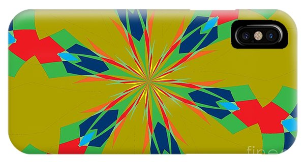 Illusion iPhone Case - Flowers Number 27 by Alex Caminker