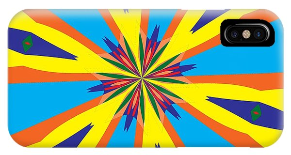 Illusion iPhone Case - Flowers Number 28 by Alex Caminker