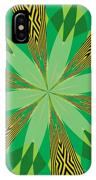 Illusion iPhone Case - Flowers Number 31 by Alex Caminker