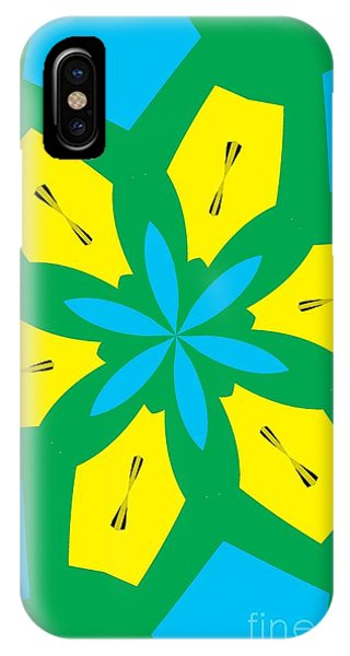 Illusion iPhone Case - Flowers Number 36 by Alex Caminker