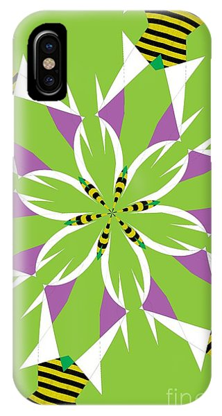 Illusion iPhone Case - Flowers Number 5 by Alex Caminker