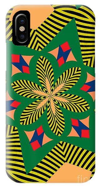 Illusion iPhone Case - Flowers Number 7 by Alex Caminker