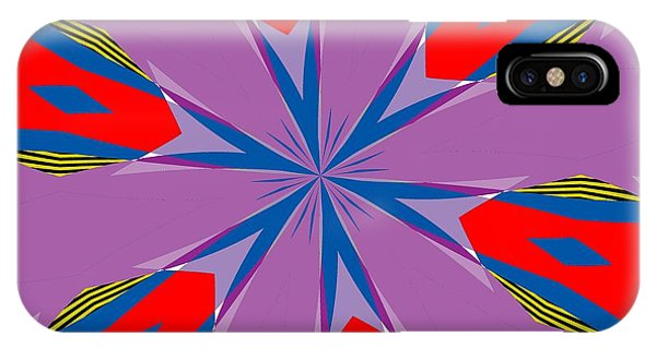 Illusion iPhone Case - Flowers Number Four by Alex Caminker