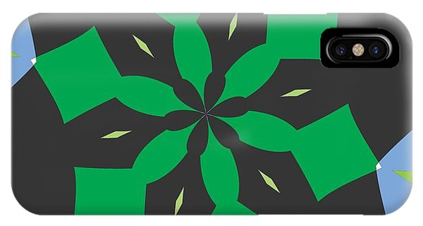 Illusion iPhone Case - Flowers Number Two by Alex Caminker