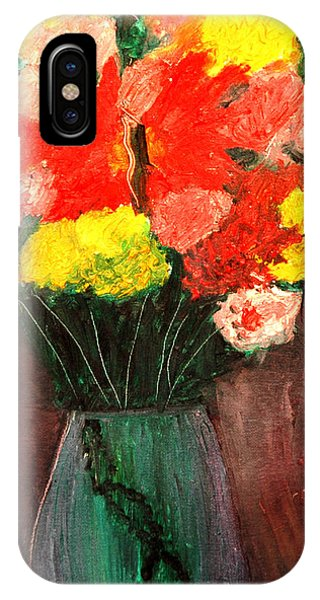 Flowers Still Life IPhone Case