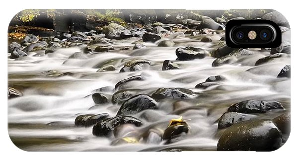 IPhone Case featuring the photograph Flowing Molalla by Brian Eberly