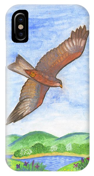 Flying Hawk IPhone Case