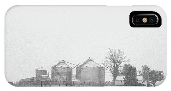 Foggy Farm IPhone Case
