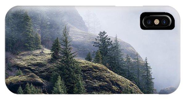 Foggy On Saddle Mountain IPhone Case