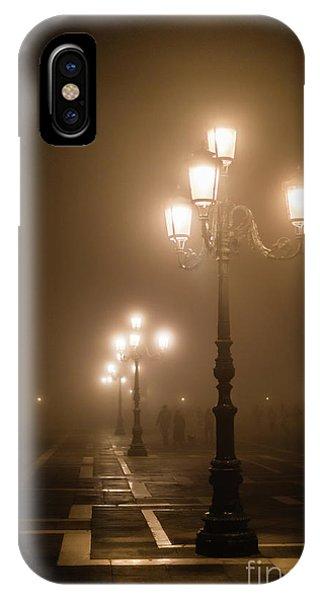 Foggy Piazza San Marco, Venice IPhone Case