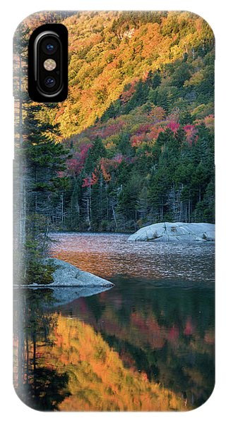 Foliage Burst At Kinsman Notch IPhone Case