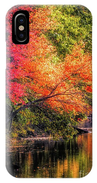 Foliage Over Forge Pond IPhone Case