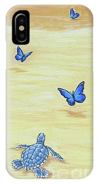 Follow The Butterflies IPhone Case