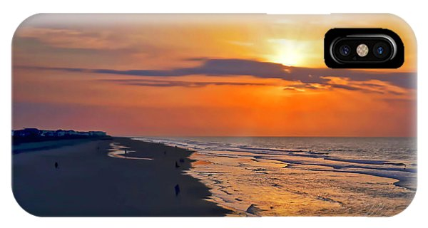 Folly Beach Sunrise IPhone Case