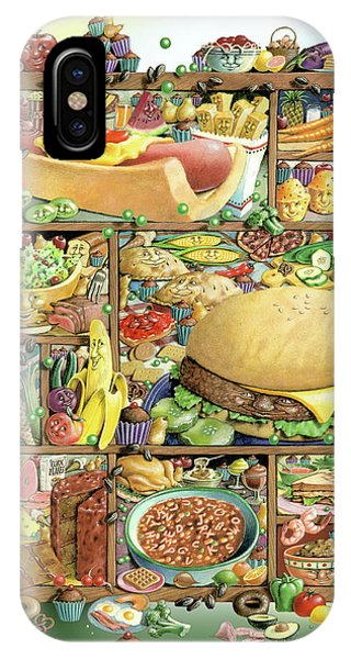 Mustard iPhone Case - Food From The Book Shadowbox Hunt by Laura Seeley