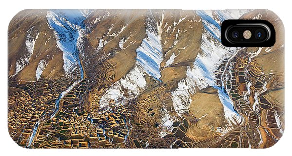 IPhone Case featuring the photograph Foothill Settlements by SR Green