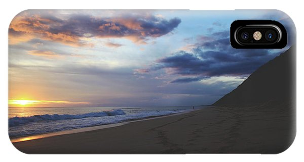 Oahu Hawaii iPhone Case - Footprints by Laurie Search