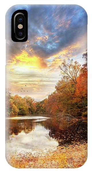 For The Love Of Autumn IPhone Case