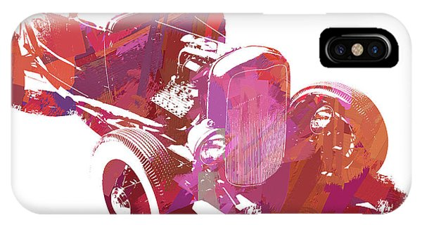 Ford Flathead Roadster Two Pop IPhone Case