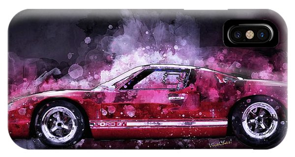 Ford Gt 40 Night Moves IPhone Case