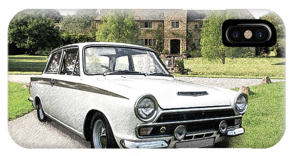 Ford 'lotus' Cortina IPhone Case