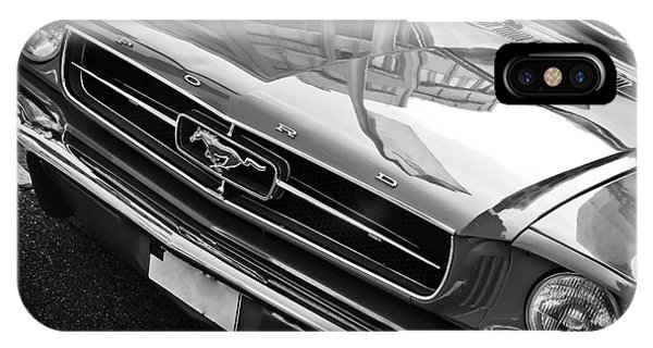 Ford Mustang Vintage 2 IPhone Case
