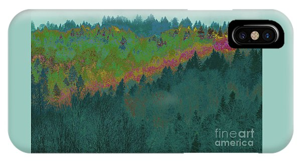 Forest And Valley IPhone Case