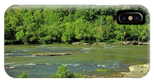IPhone Case featuring the photograph Forest At Cumberland River by Angela Murdock
