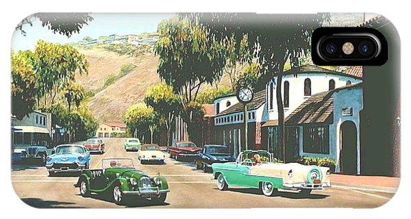 Laguna Beach iPhone Case - Forest Avenue At Glennerye by Frank Dalton