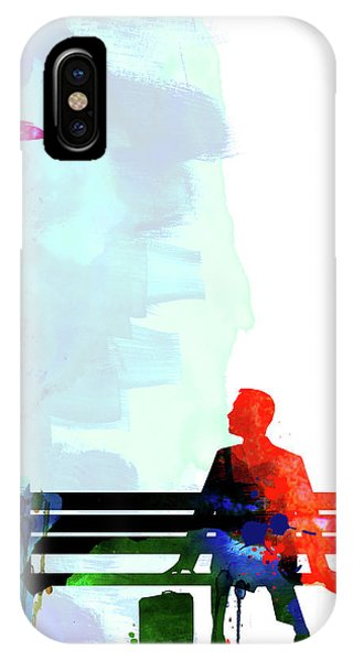 Film iPhone Case - Forest Gump Watercolor II by Naxart Studio