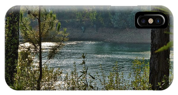 Forest Lake In Amendoa IPhone Case