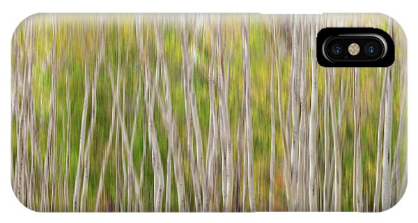 IPhone Case featuring the photograph Forest Twist And Turns In Motion by James BO Insogna