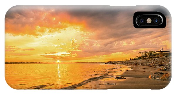 Fort Foster Sunset Watchers Club IPhone Case