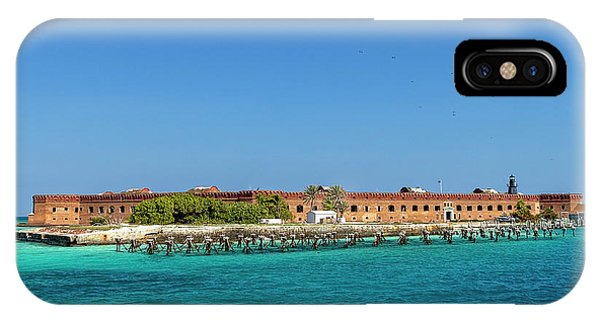 Fort Jefferson, Dry Tortugas National Park IPhone Case