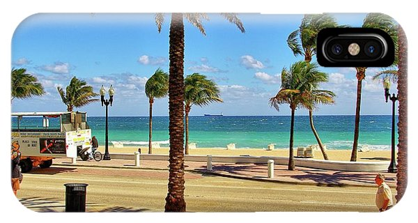 iPhone Case - Fort Lauderdale Beach, Florida by Zal Latzkovich