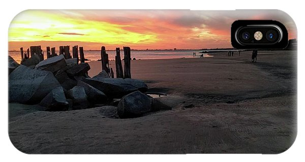 Fort Moultrie Sunset IPhone Case
